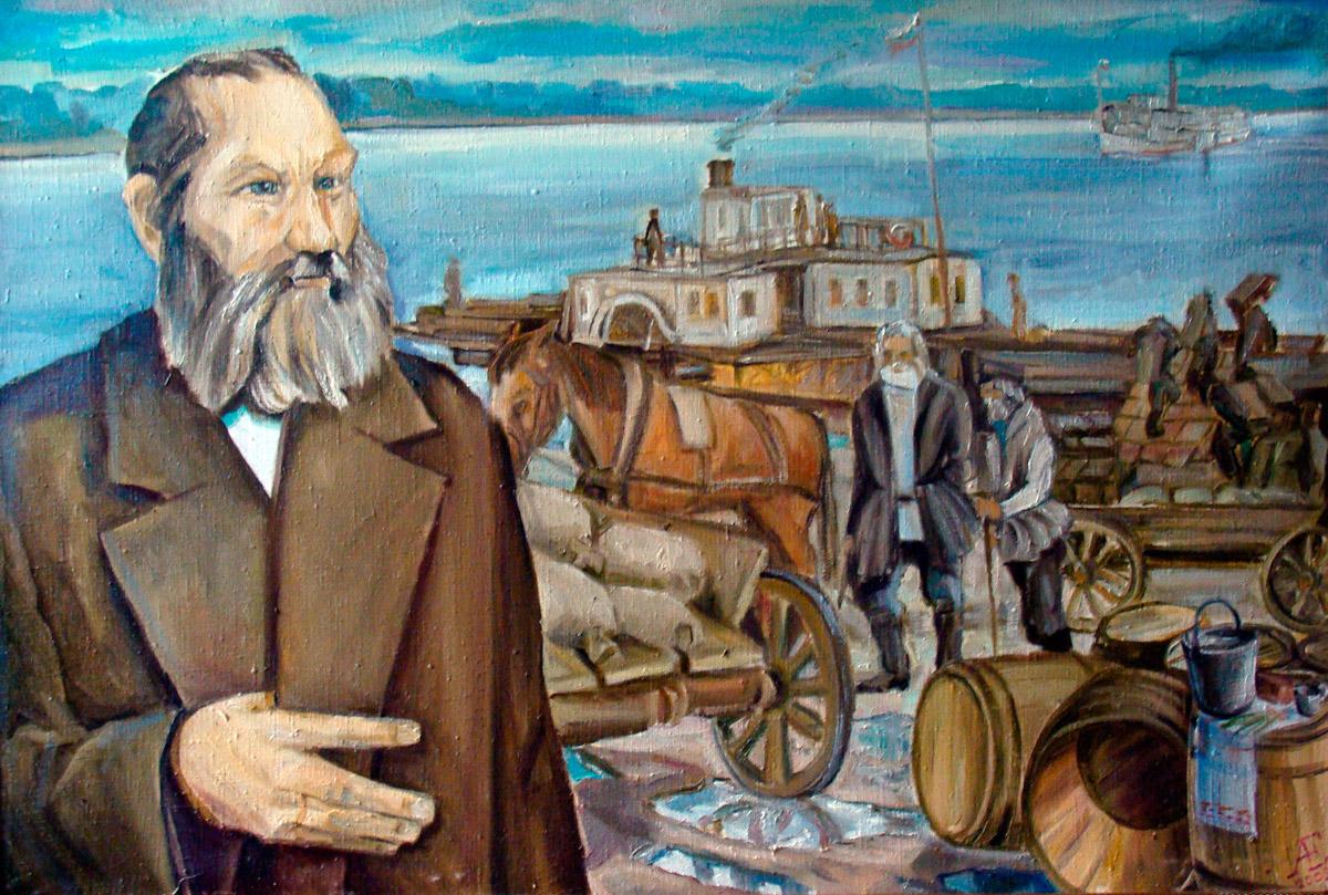 Ефремов е а художник член союза художников